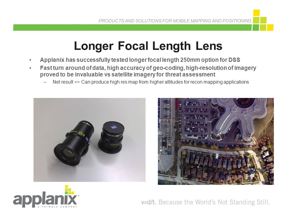 Longer Focal Length Lens