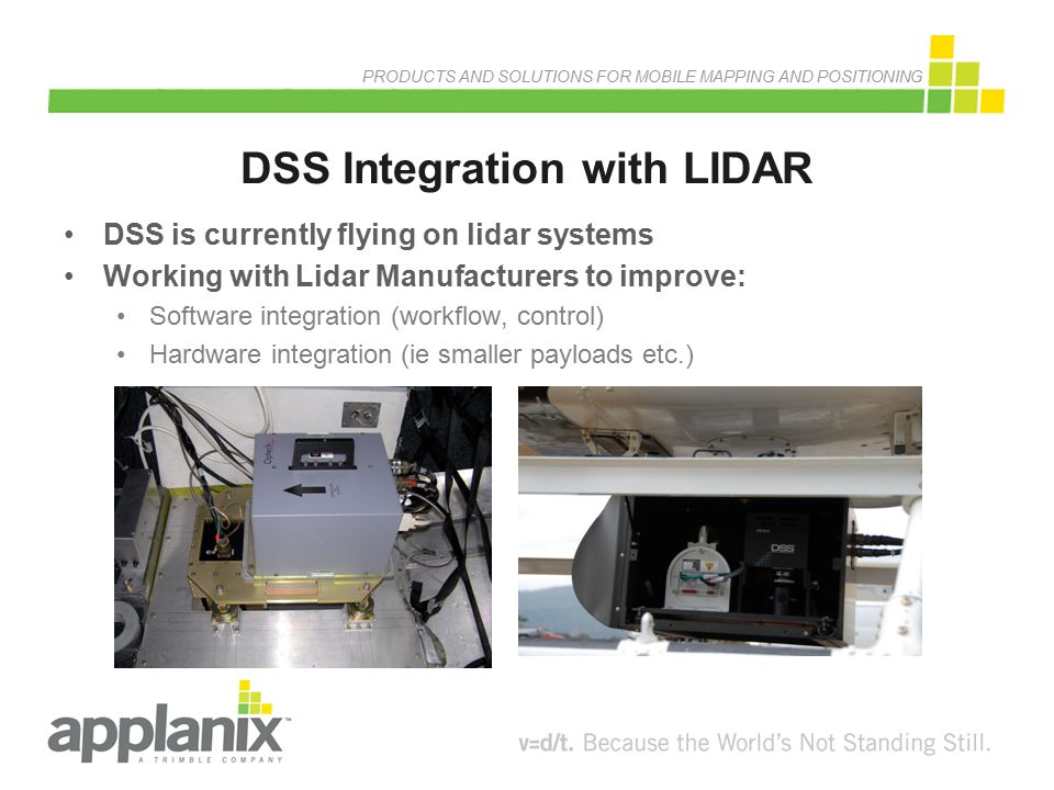 DSS Integration with LIDAR