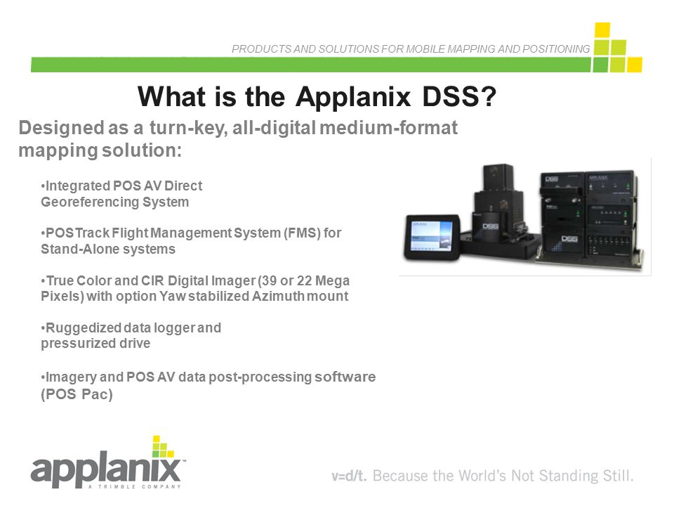 What is the Applanix DSS