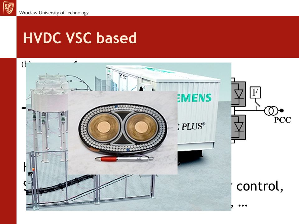 HVDC VSC based HVDC Light – HVDC Plus