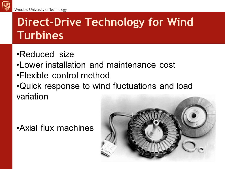Direct-Drive Technology for Wind Turbines