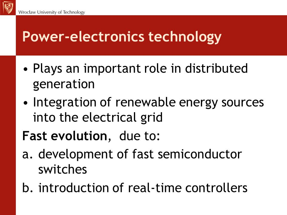 Power-electronics technology