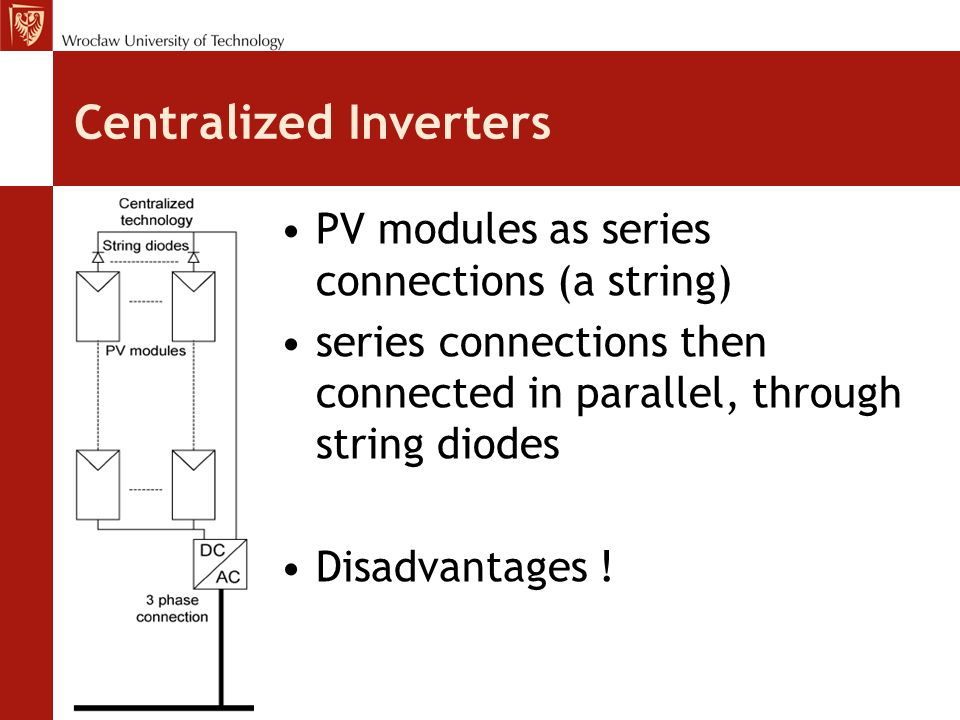 Centralized Inverters