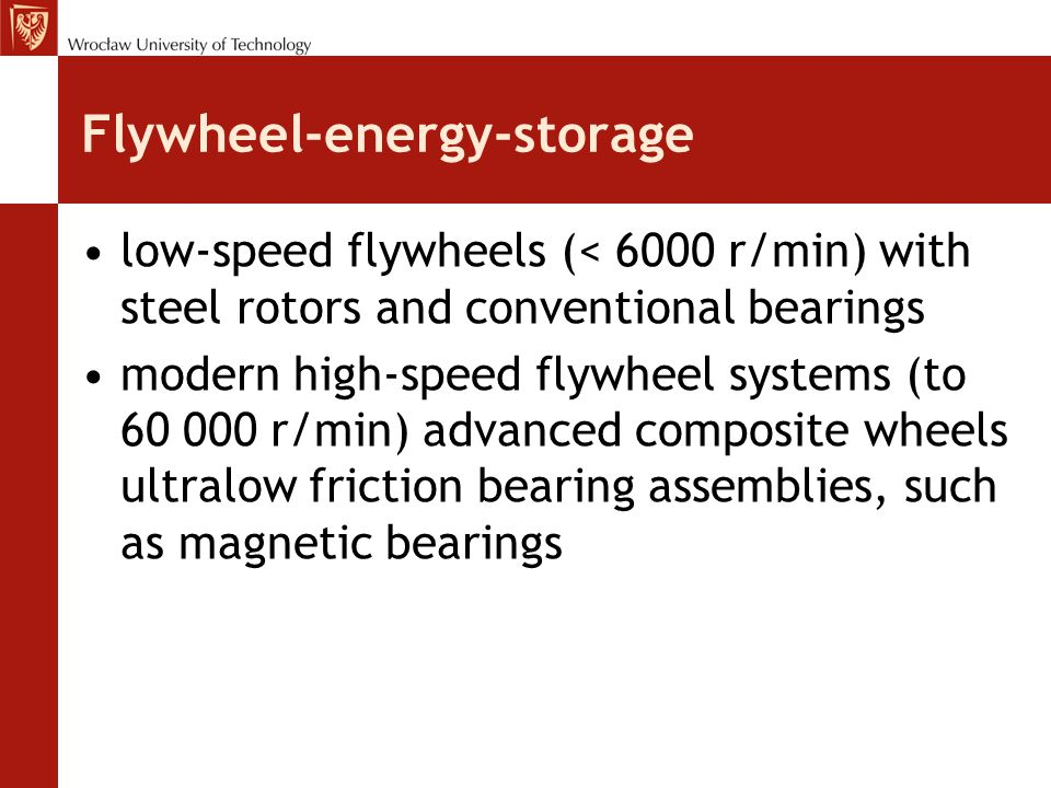 Flywheel-energy-storage