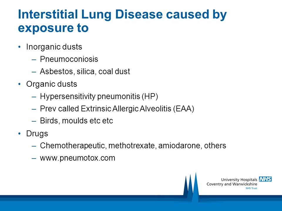 Interstitial lung disease - ppt video online download