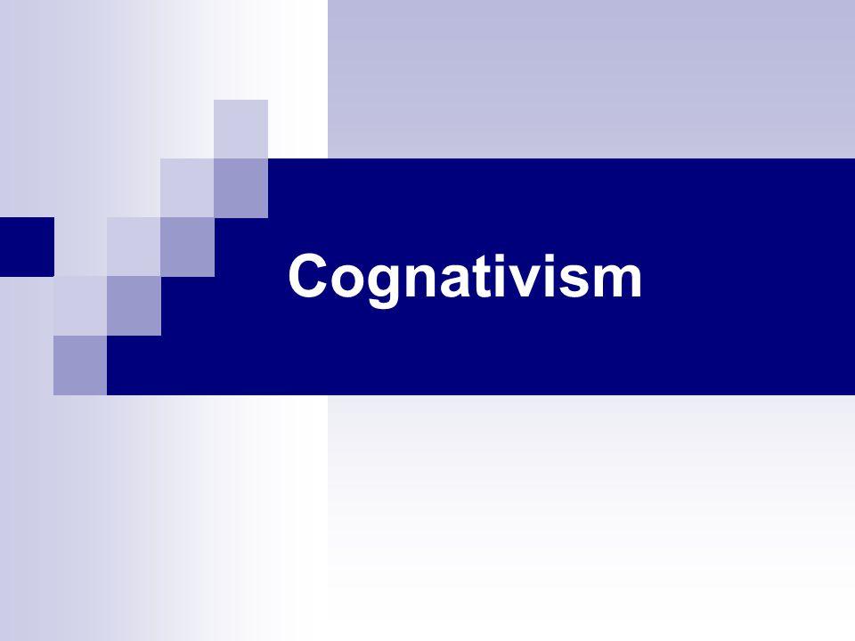 Cognativism
