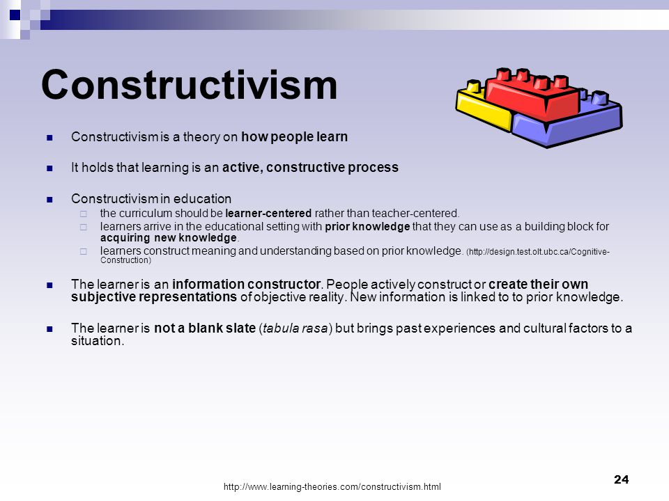 Concept to classroom constructivism as a paradigm for teaching and learning essay