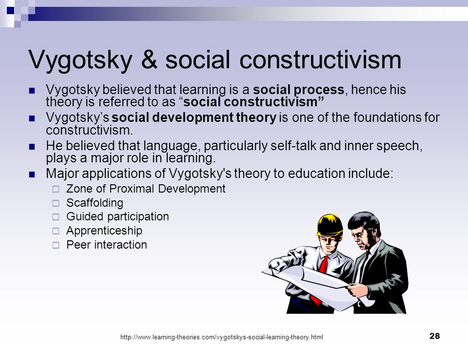 vygotsky the social connection A light-hearted and simplified review of the educational development theories of vygotsky, erikson, and that is to say that there is a social connection.