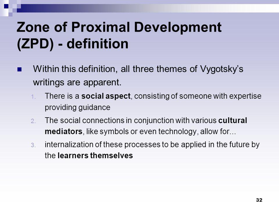 Zone of Proximal Development (ZPD) - definition