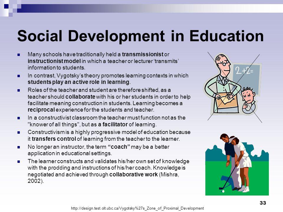 Social Development in Education