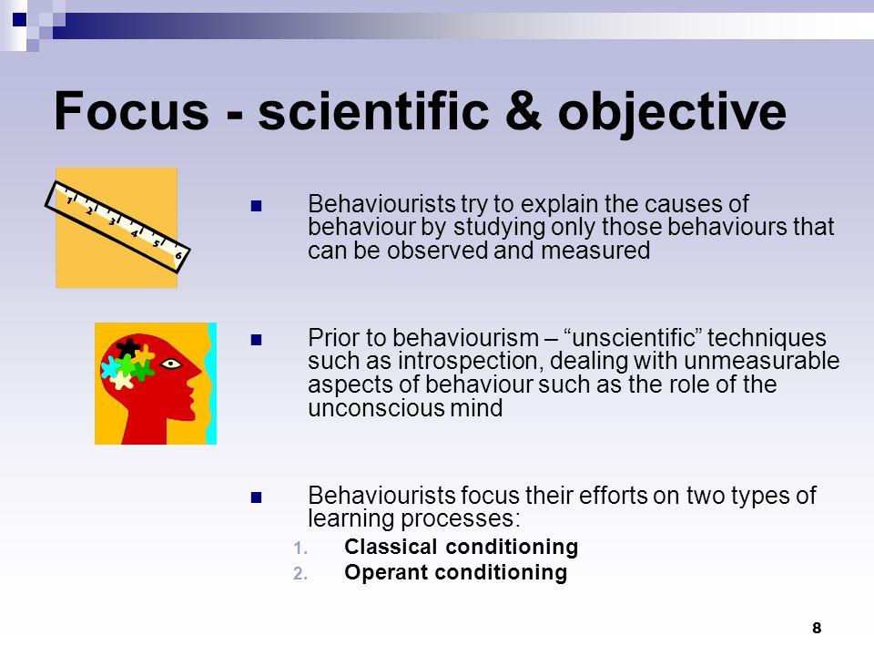 Focus - scientific & objective