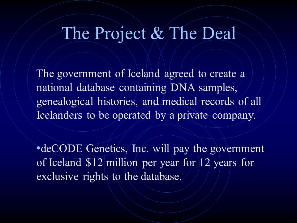 The Project & The Deal