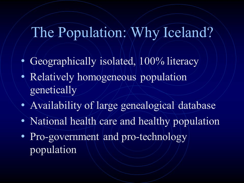 The Population: Why Iceland