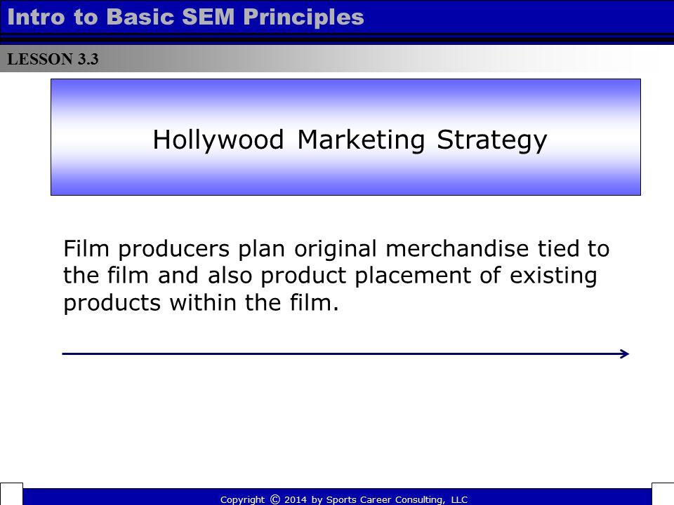 Hollywood Marketing Strategy