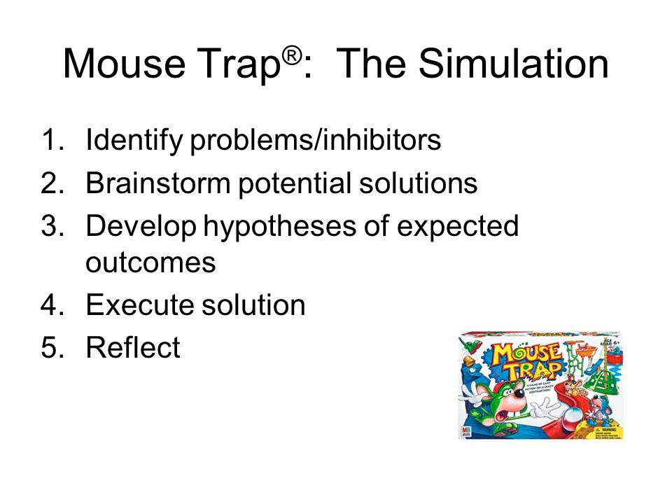 Mouse Trap®: The Simulation