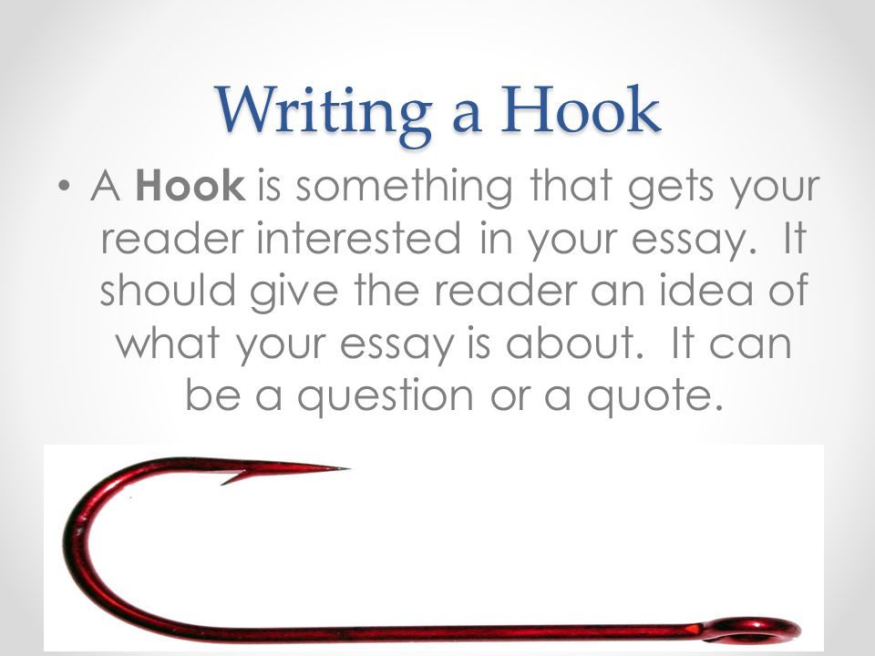 writing hook Last week i gave you a list of tips for writing a perfect synopsis here today i'll list some tips on how to write a powerful hook for your book proposal with the growing number of electronic and social media diversions competing for people's attention, the hook on the first page of your book.