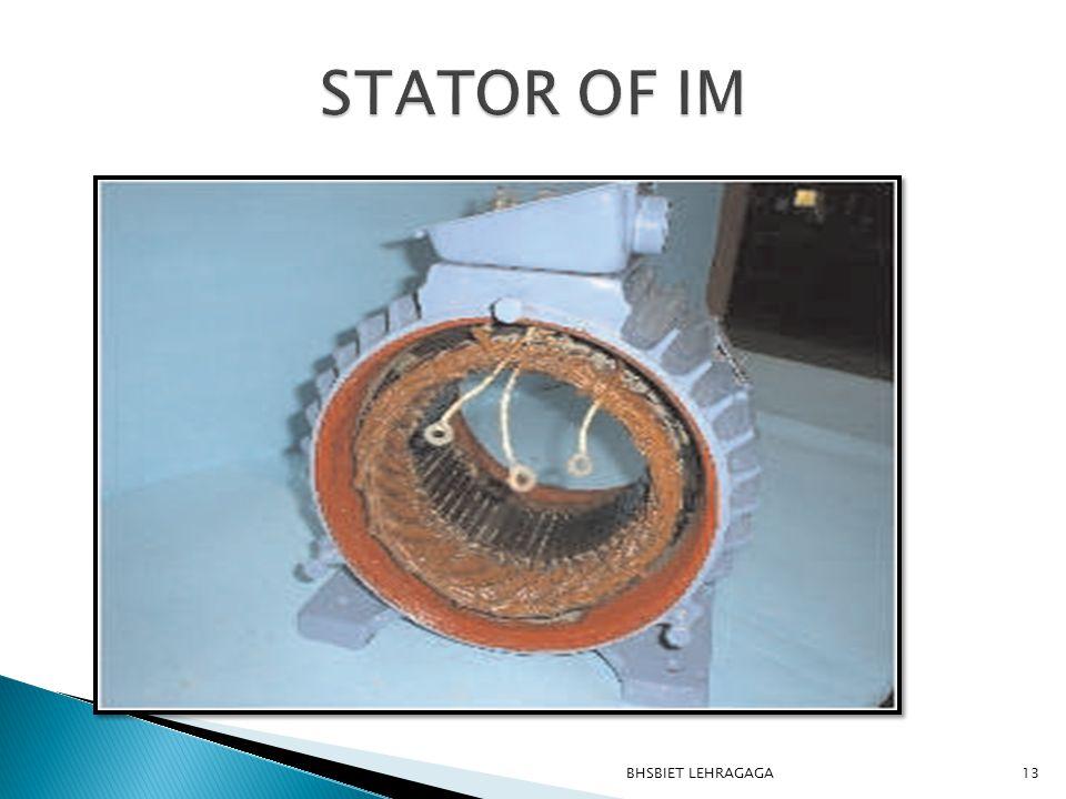 STATOR OF IM BHSBIET LEHRAGAGA