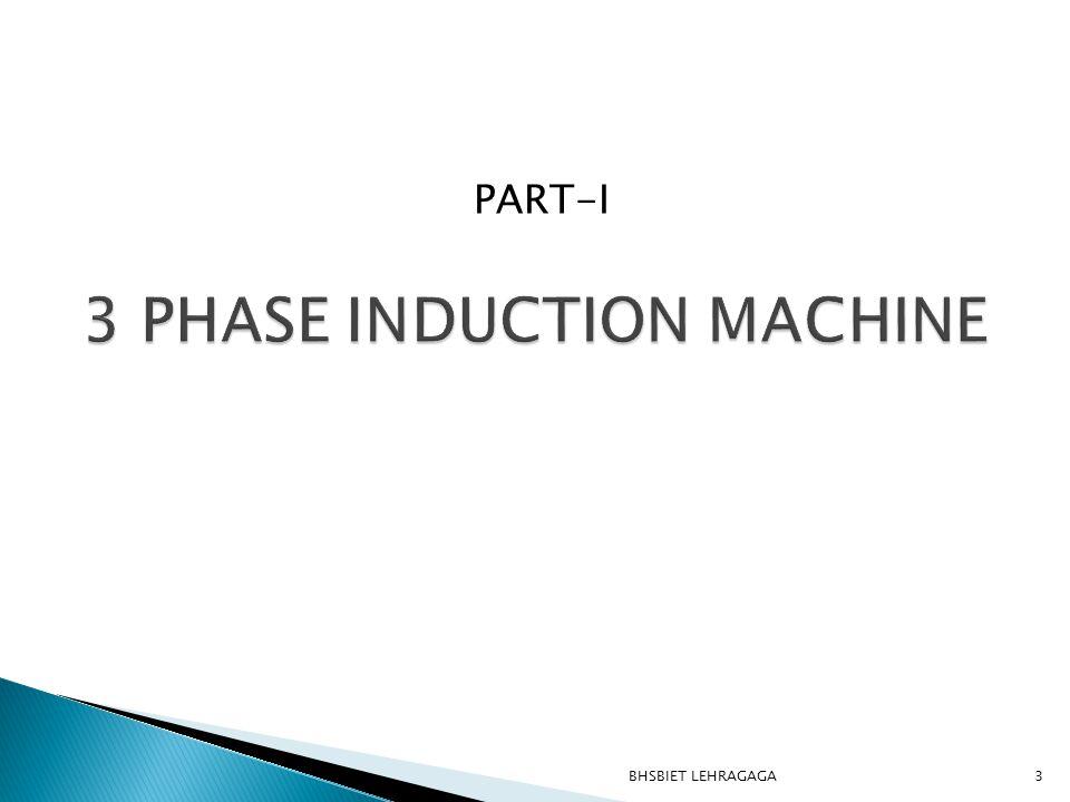 3 PHASE INDUCTION MACHINE