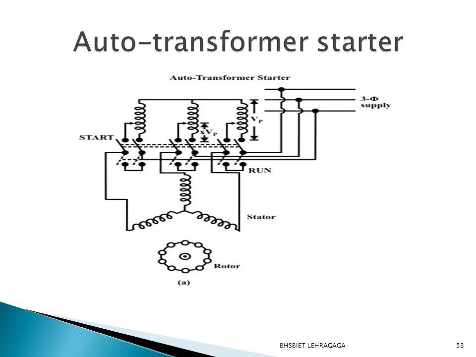 Auto-transformer starter
