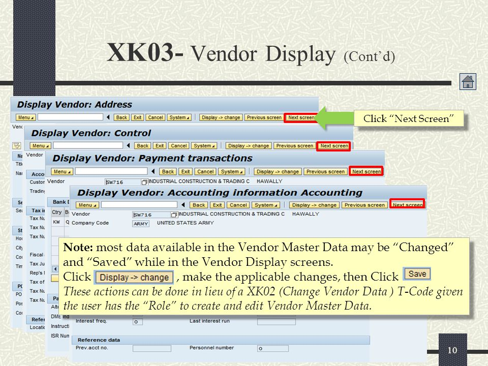 XK03- Vendor Display (Cont'd)