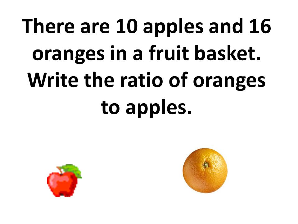 There are 10 apples and 16 oranges in a fruit basket