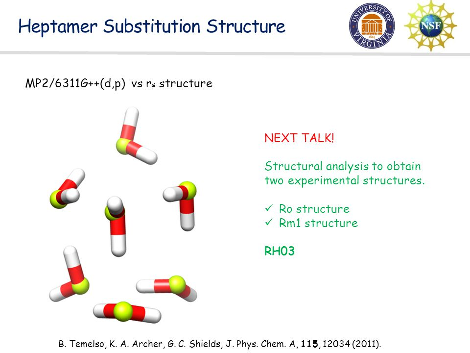 Heptamer Substitution Structure