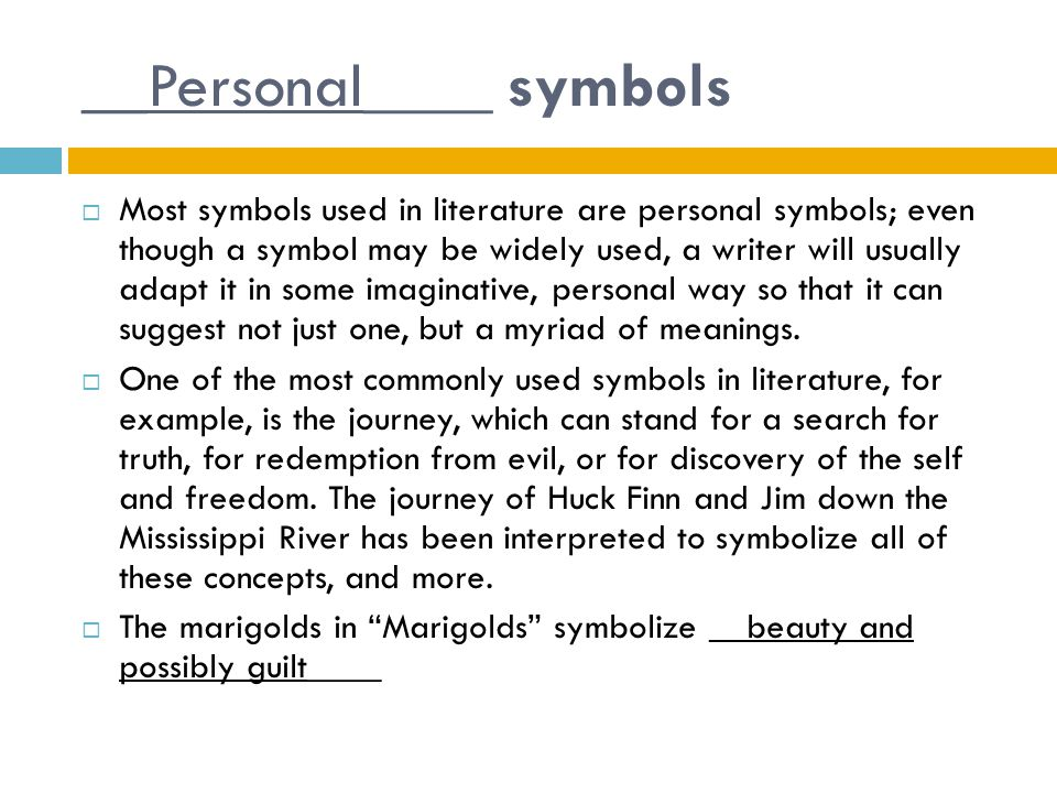 __Personal____ symbols
