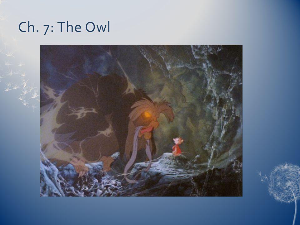 Ch. 7: The Owl