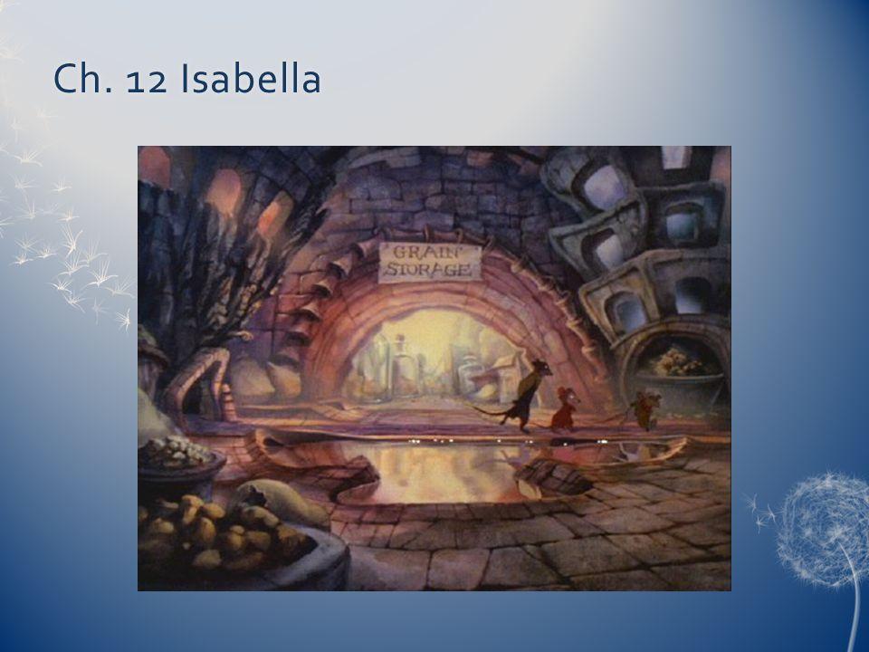 Ch. 12 Isabella