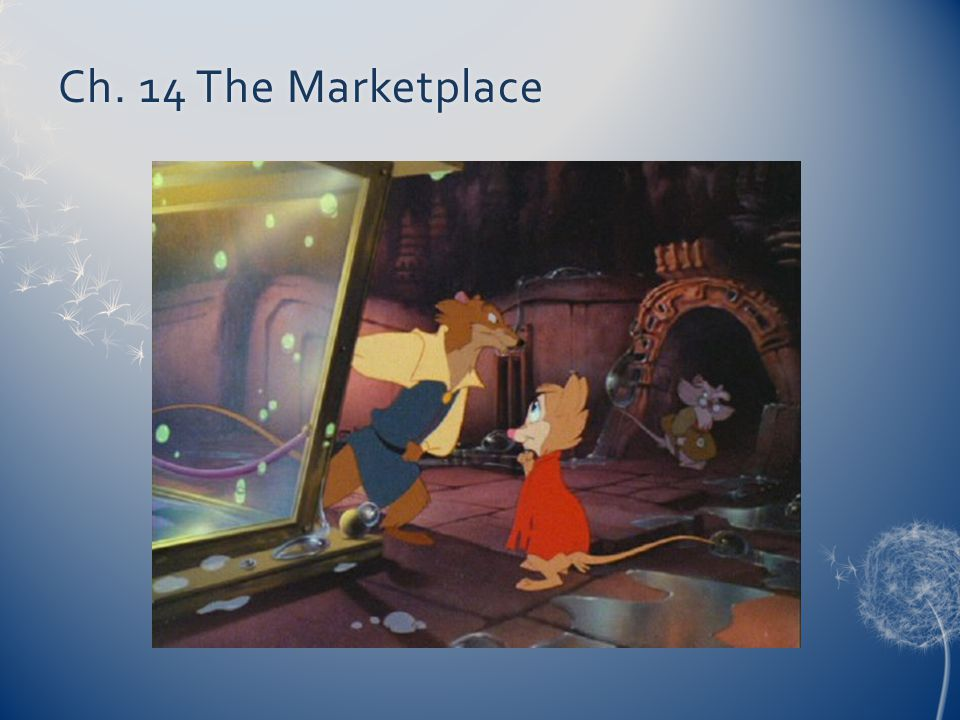 Ch. 14 The Marketplace