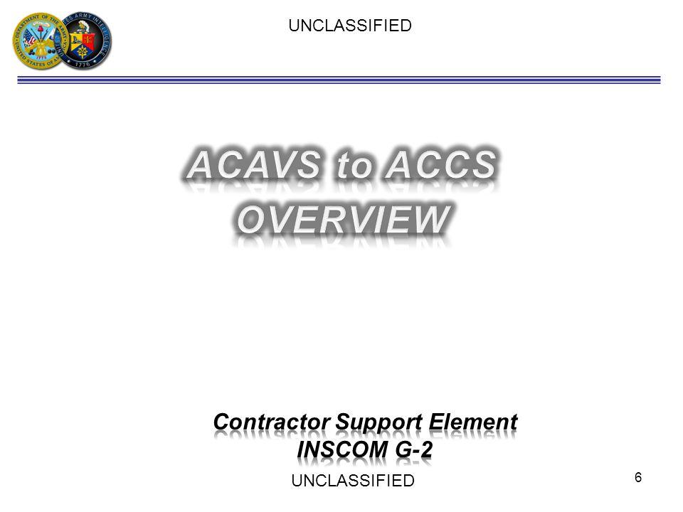 Contractor Support Element
