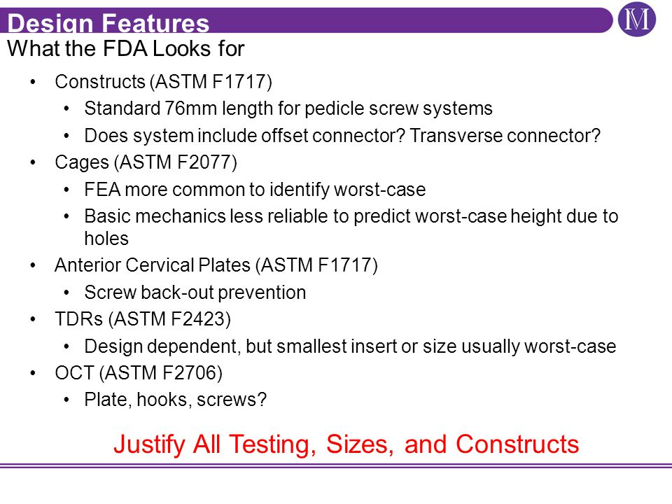 Justify All Testing, Sizes, and Constructs