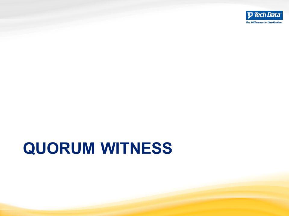 Quorum Witness