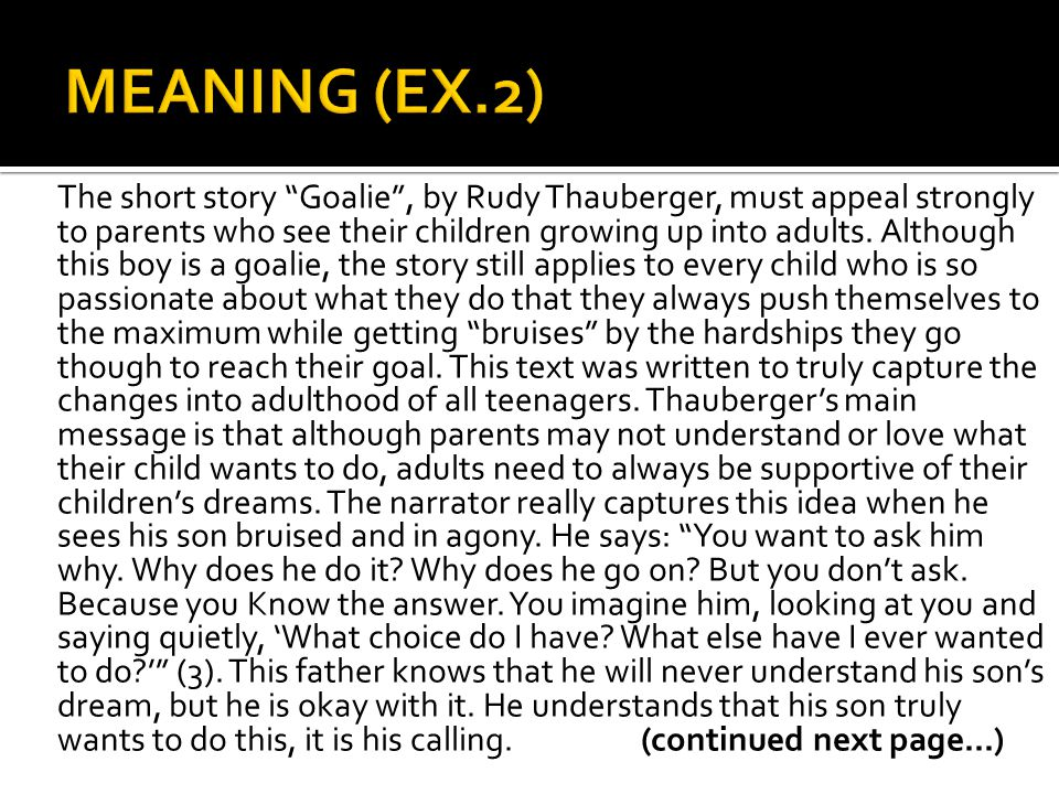 MEANING (EX.2)