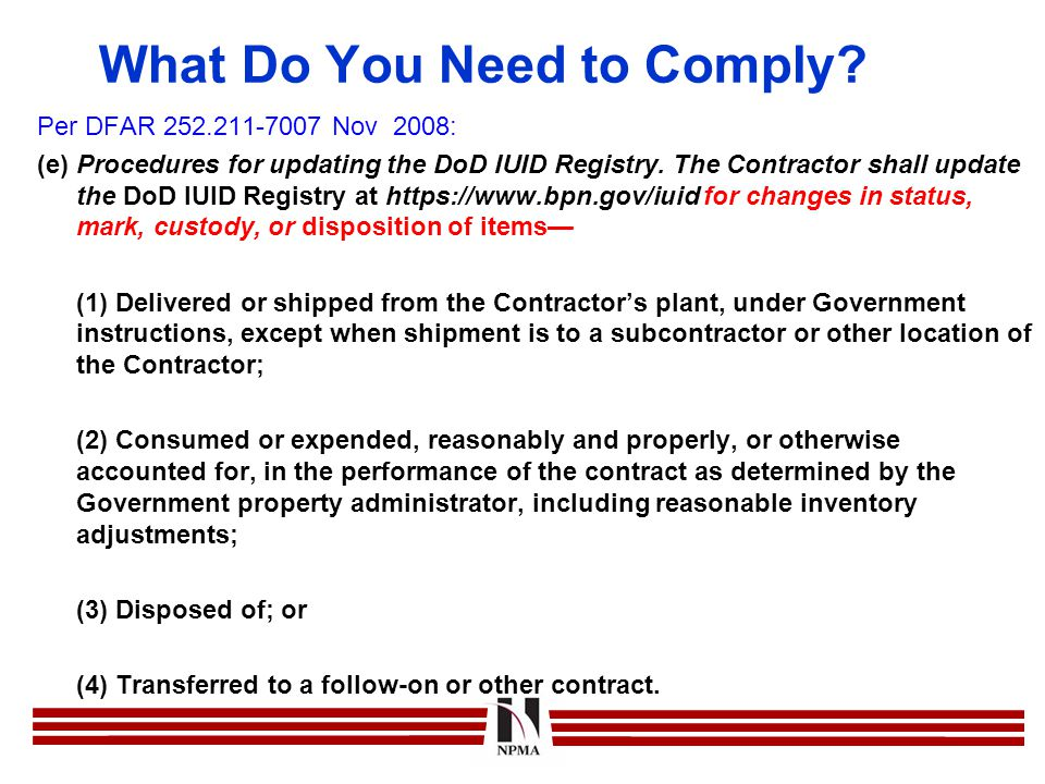 What Do You Need to Comply