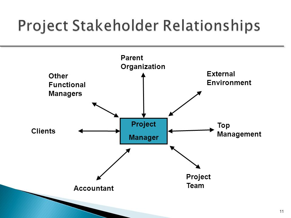 Project Stakeholder Relationships