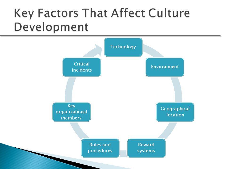 Key Factors That Affect Culture Development