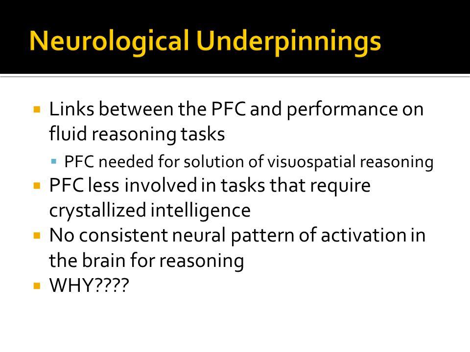 Neurological Underpinnings