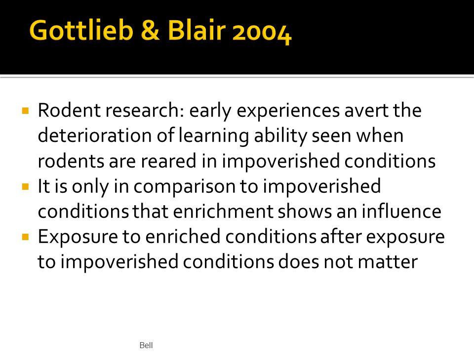 Gottlieb & Blair 2004