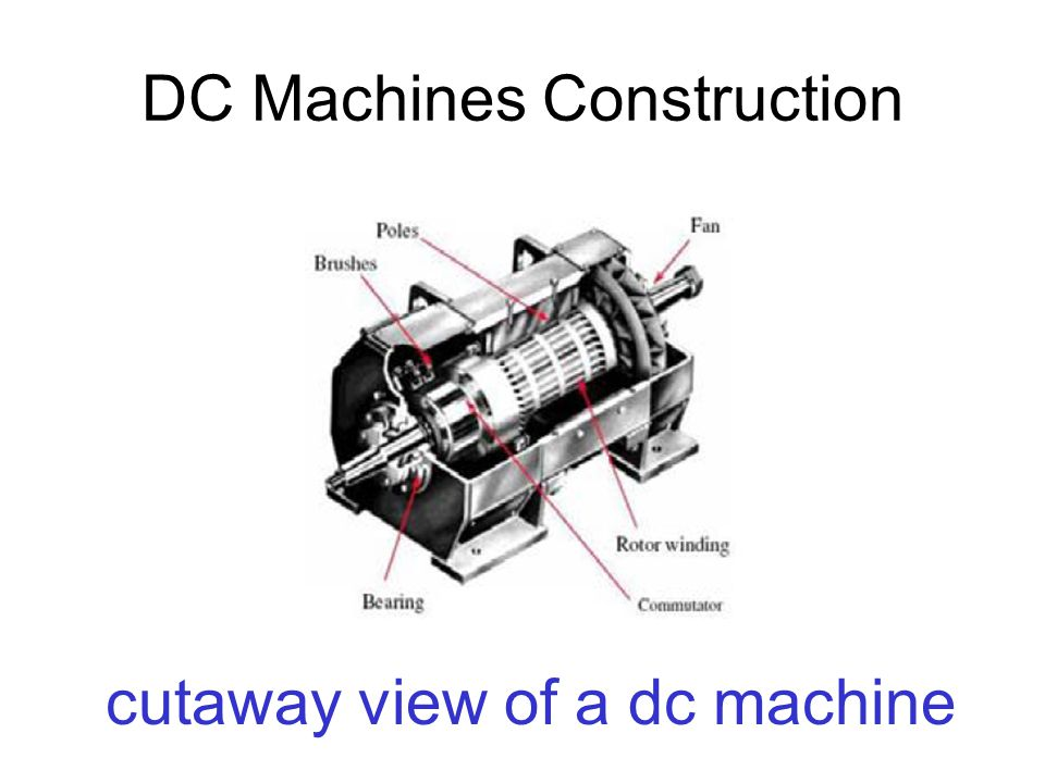 DC Machines Construction