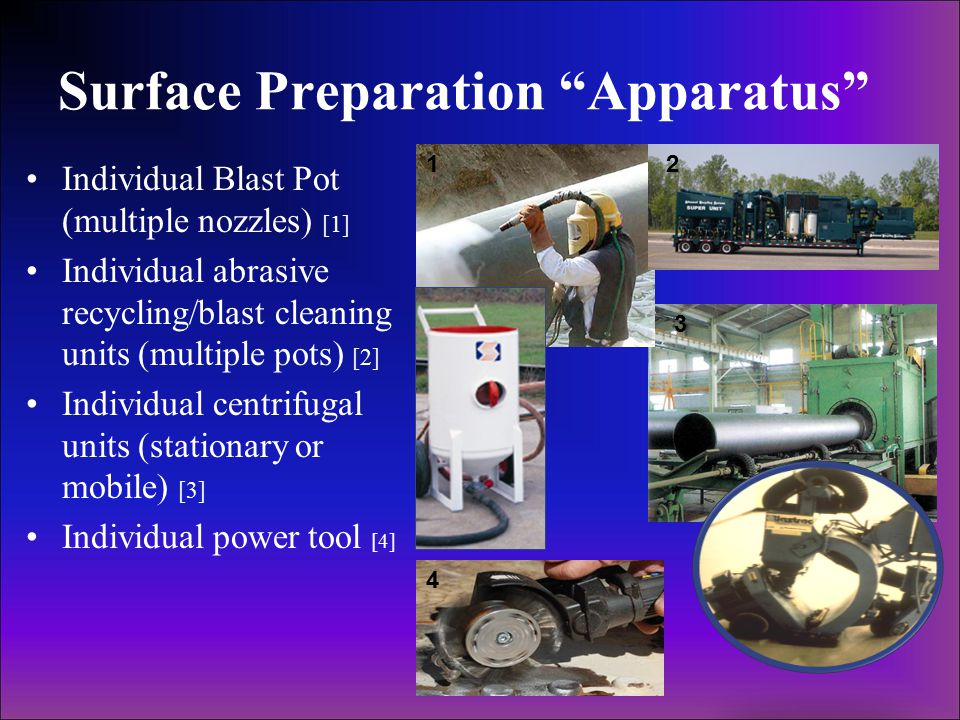 Surface Preparation Apparatus