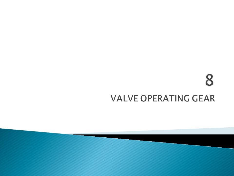 8 VALVE OPERATING GEAR