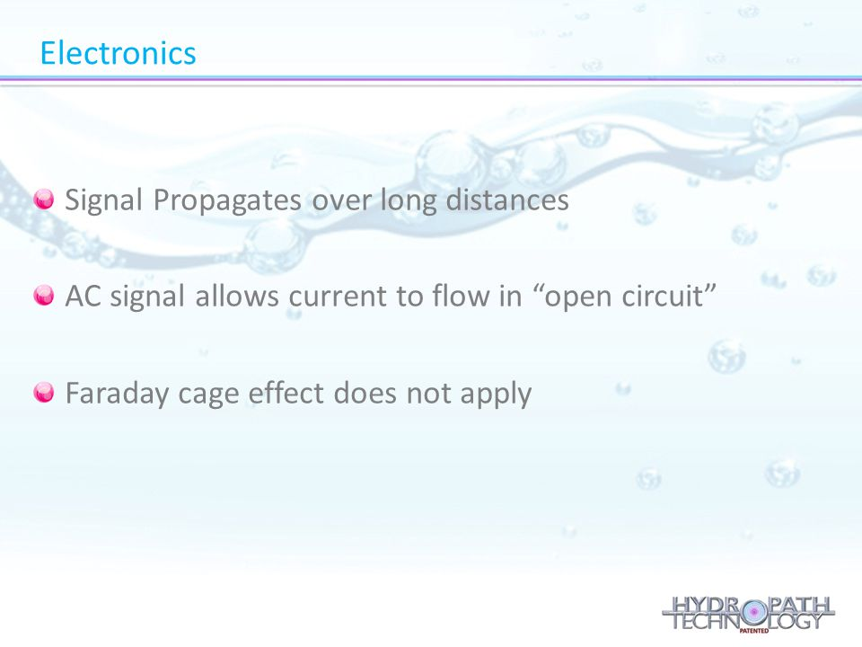 Electronics Signal Propagates over long distances