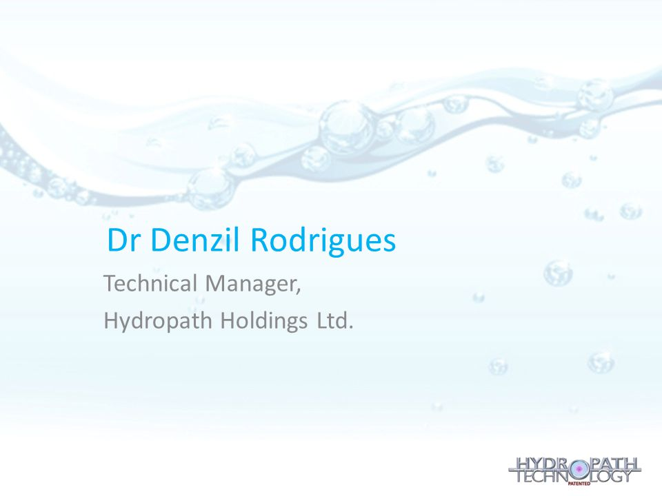 Technical Manager, Hydropath Holdings Ltd.