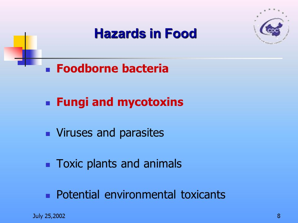 Toxic plants and animals Potential environmental toxicants