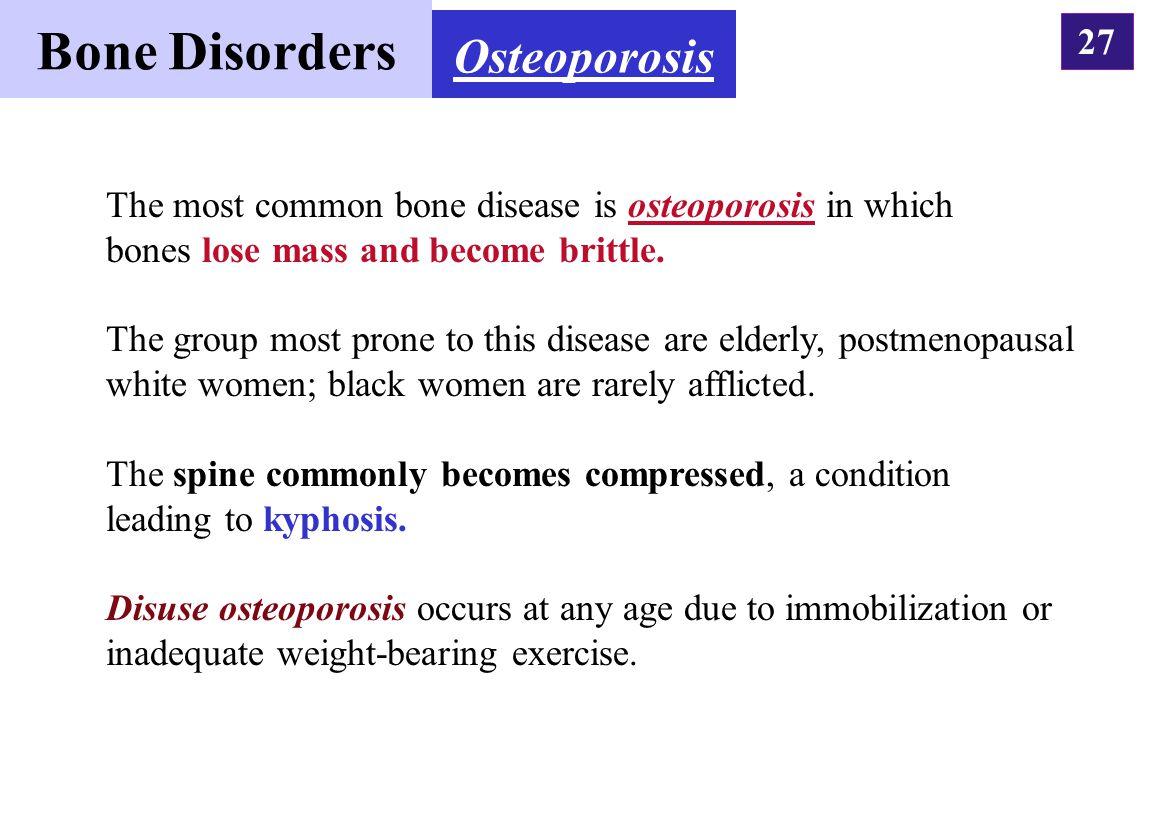 Bone Disorders Osteoporosis