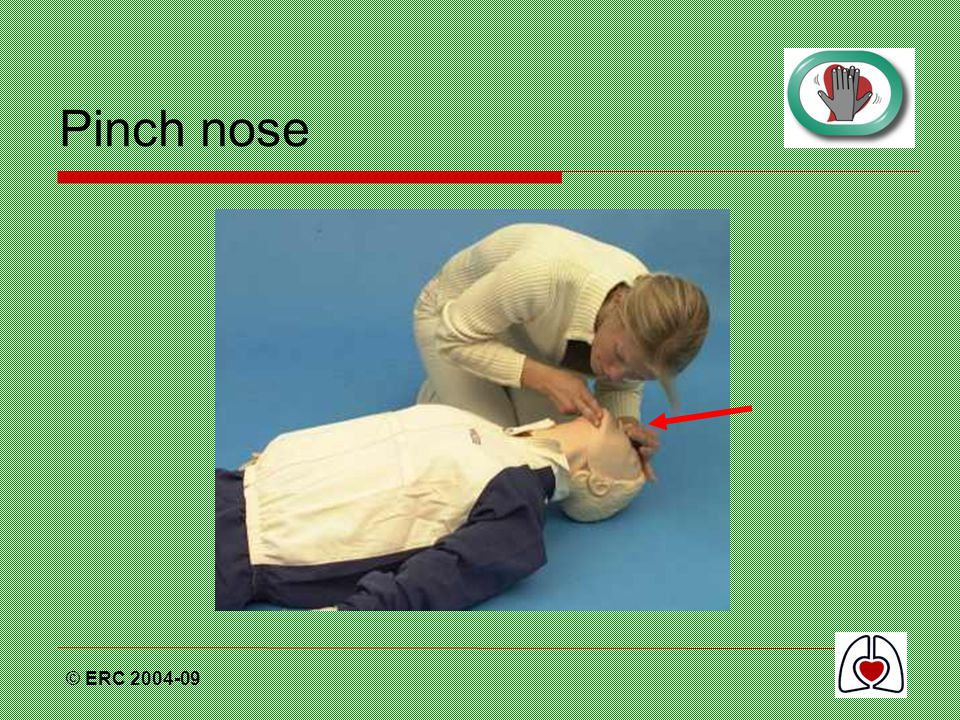 Pinch nose © ERC 2004-09