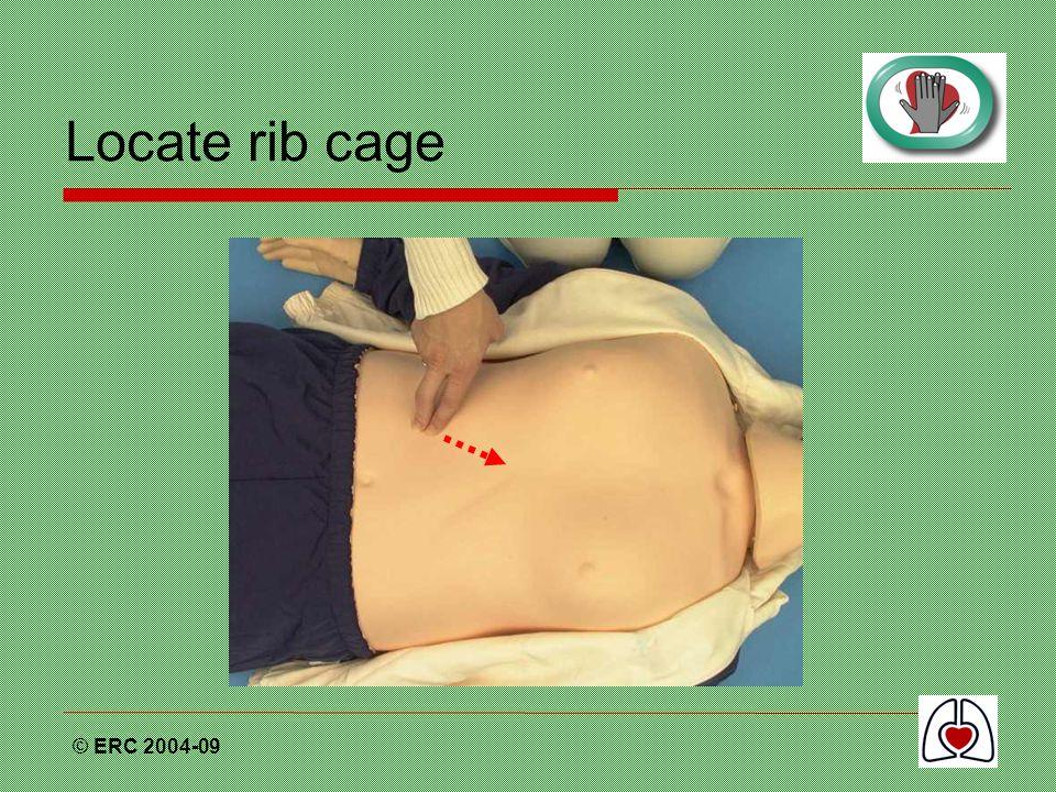 Locate rib cage © ERC 2004-09