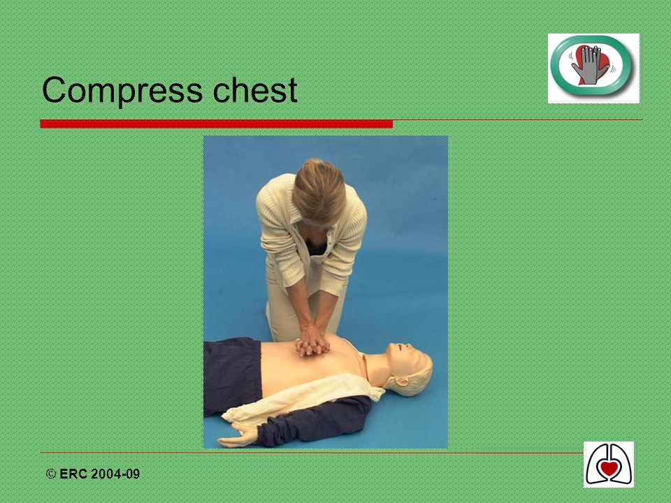 Compress chest © ERC