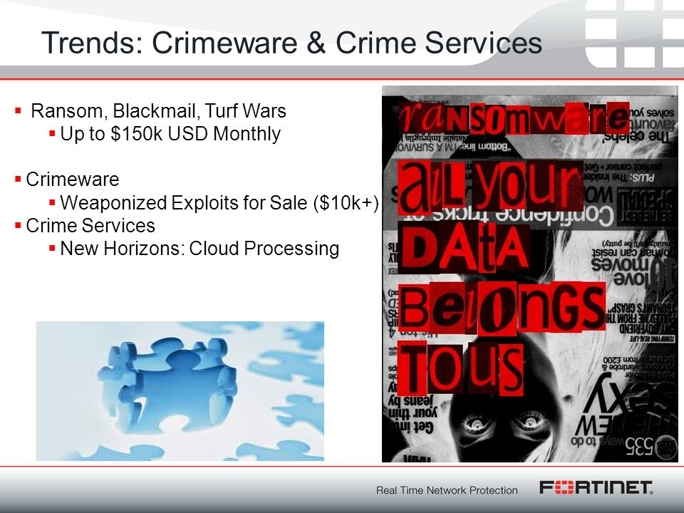 Trends: Crimeware & Crime Services
